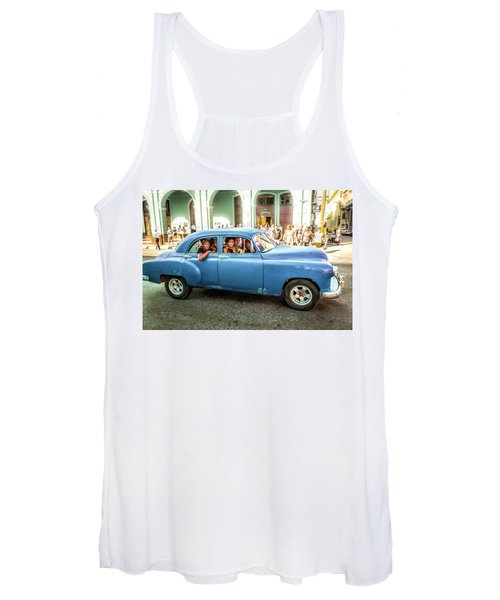 Cuban Taxi Women's Tank Top
