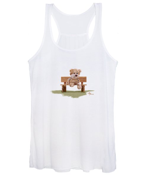 Cuddly At The Park Women's Tank Top
