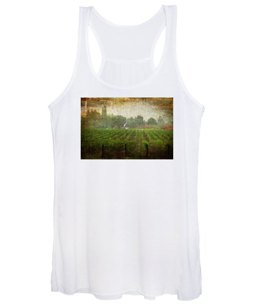 Cultivating A Chardonnay Women's Tank Top