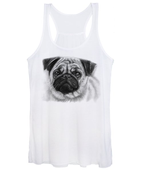 Cute Pug Women's Tank Top