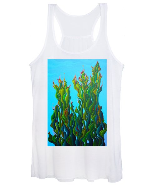 Cypressing A Wave Women's Tank Top