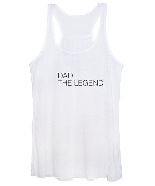 Dad The Legend Women's Tank Top