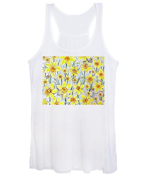 Daffodils Women's Tank Top