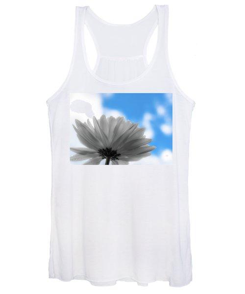 Daisy Blue Women's Tank Top