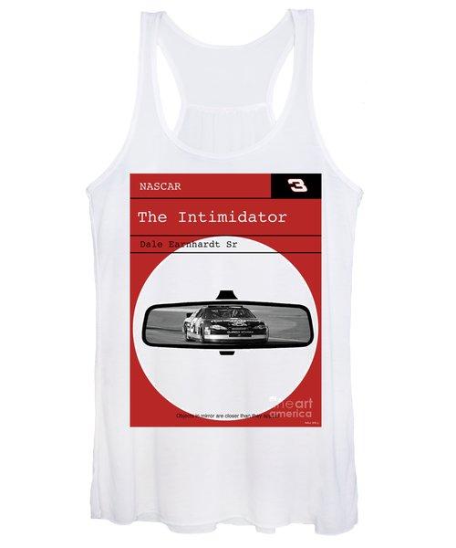 Dale Earnhardt Sr., The Intimidator, Nascar, Minimalist Poster Art Women's Tank Top