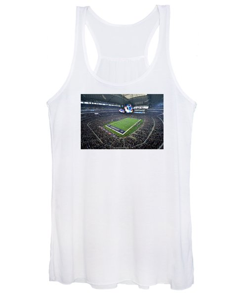 Dallas Cowboys Att Stadium Women's Tank Top