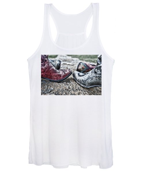 Dancing Boots Women's Tank Top