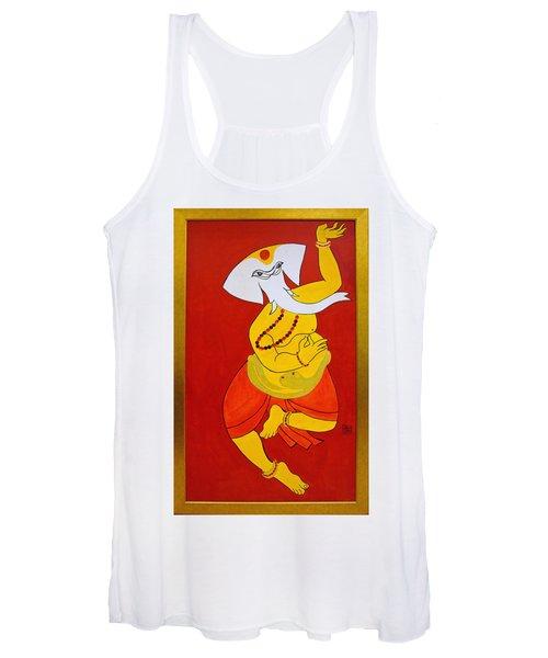 Dancing Ganesha Women's Tank Top