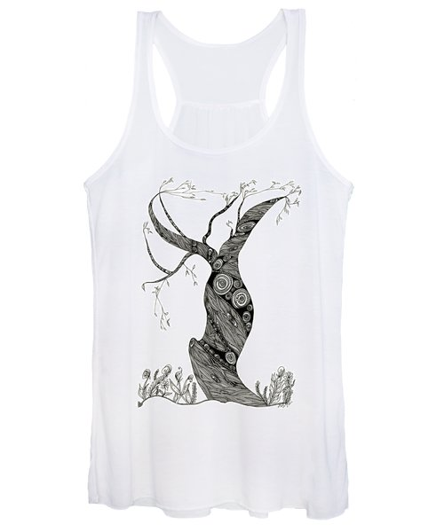 Dancing Tree Women's Tank Top