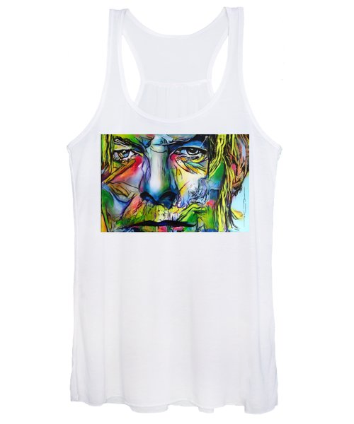David Bowie Women's Tank Top