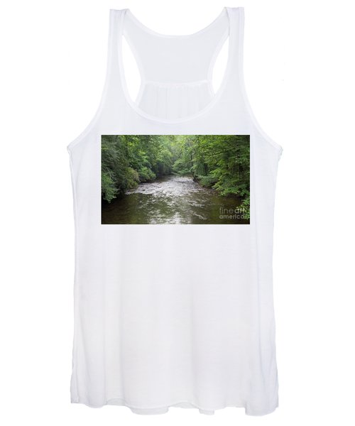 Davidson River In North Carolina Women's Tank Top