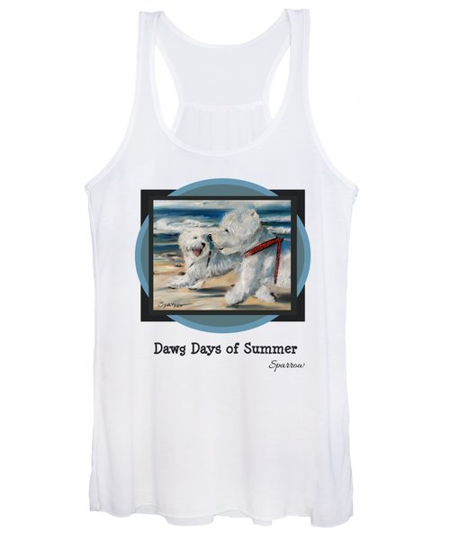 Dawg Days Of Summer Women's Tank Top