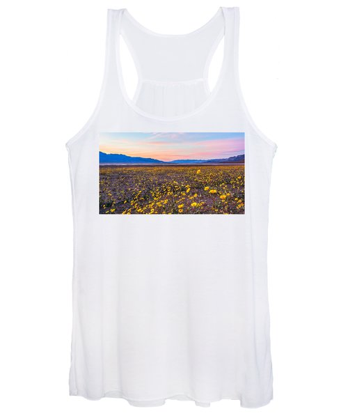 Death Valley Sunset Women's Tank Top