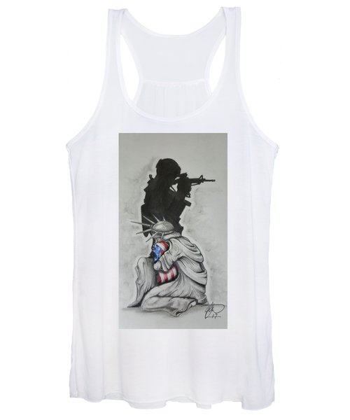 Defending Liberty Women's Tank Top