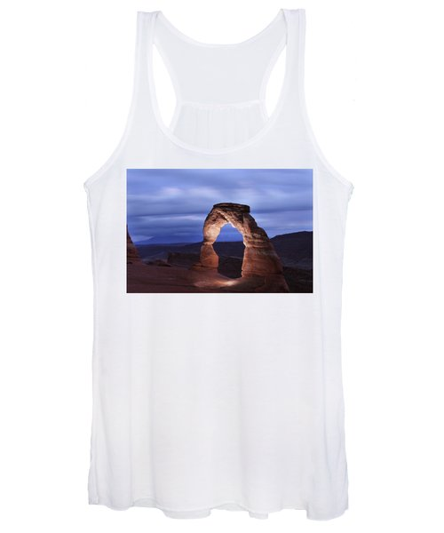 Delicate Arch At Twilight Women's Tank Top