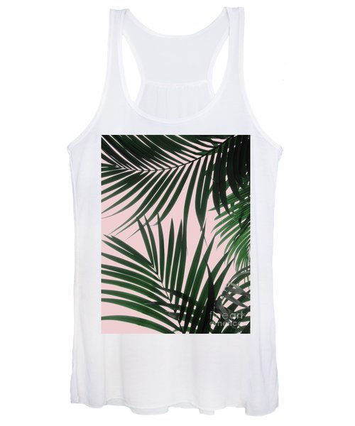Delicate Jungle Theme Women's Tank Top