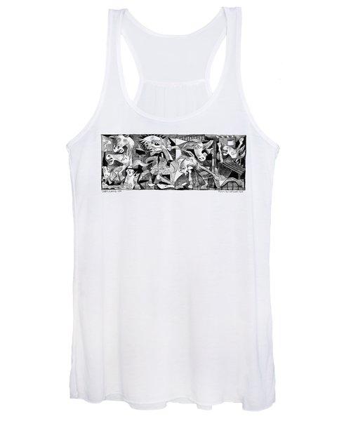 Democrat Guernica Women's Tank Top