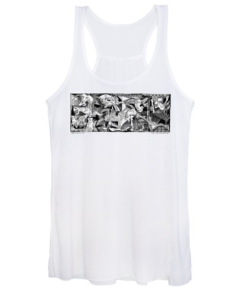 Democrat Guernica Women's Tank Top