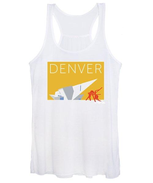 Denver Art Museum/gold Women's Tank Top
