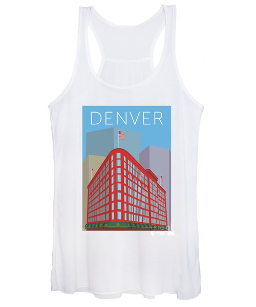 Denver Brown Palace/blue Women's Tank Top