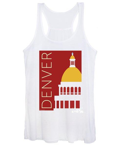 Denver Capitol/maroon Women's Tank Top