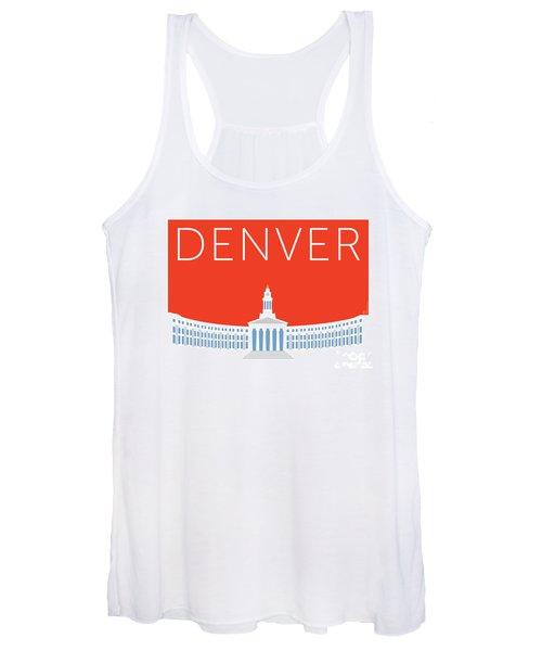 Denver City And County Bldg/orange Women's Tank Top