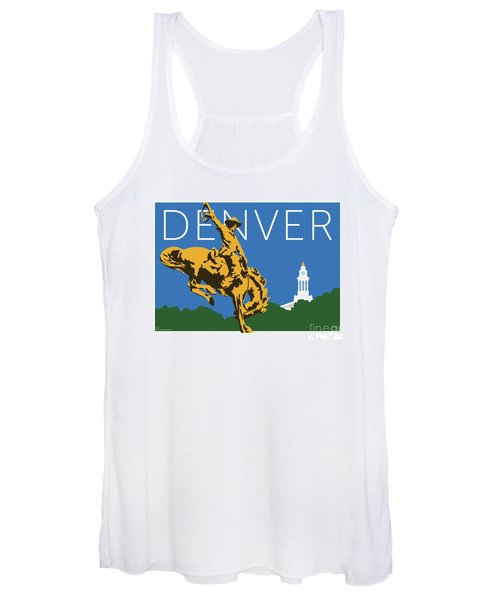 Denver Cowboy/dark Blue Women's Tank Top