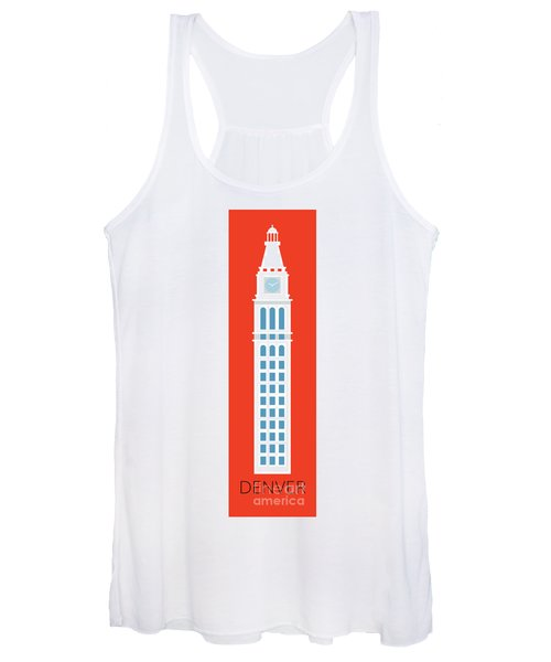 Denver D And F Tower/tall Women's Tank Top