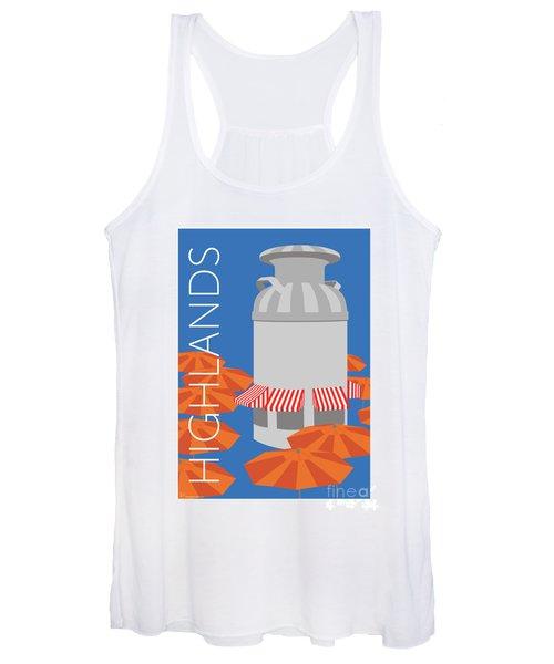 Denver Highlands/blue Women's Tank Top