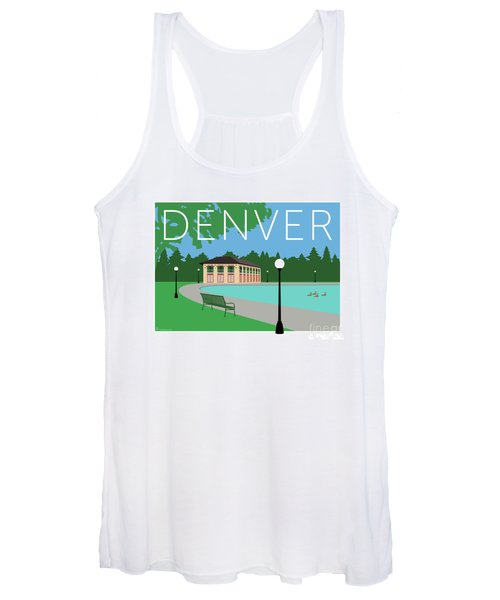 Denver Washington Park/blue Women's Tank Top