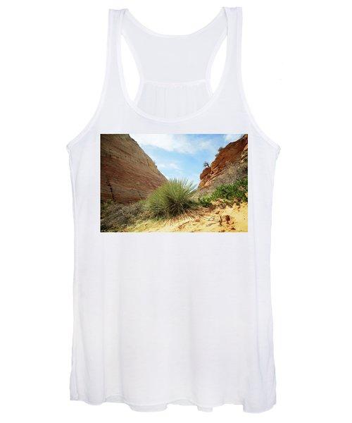 Desert Greenery Women's Tank Top