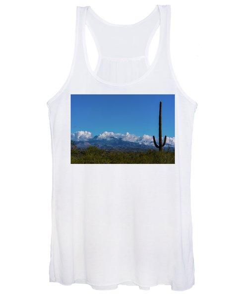 Desert Inversion Cactus Women's Tank Top