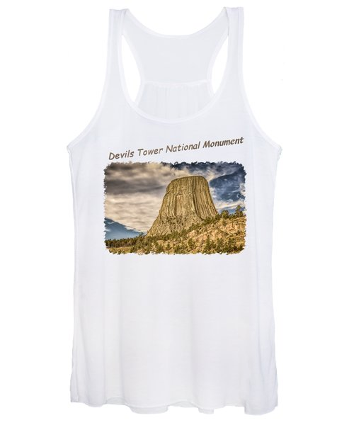 Devils Tower Inspiration 2 Women's Tank Top