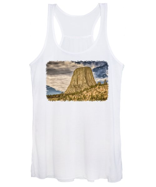 Devils Tower Inspiration 3 Women's Tank Top