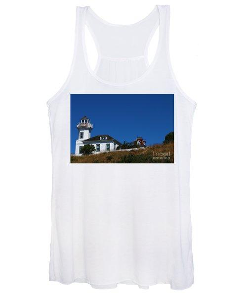 Dimick Lighthouse - Port Townsend Women's Tank Top