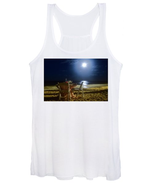 Dinner For Two In The Moonlight Women's Tank Top