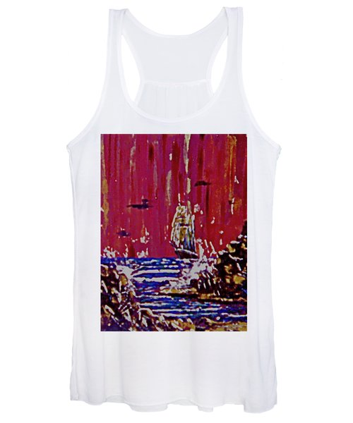 Disaster On The Reef Women's Tank Top