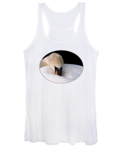 Do Not Disturb - Swan On Nest Women's Tank Top