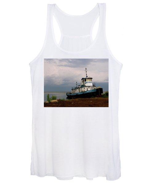 Docked On The Shore Women's Tank Top