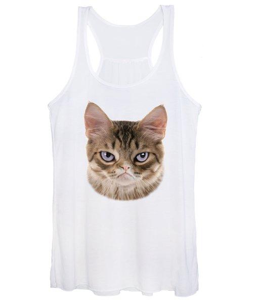 Kitten T-shirt Women's Tank Top
