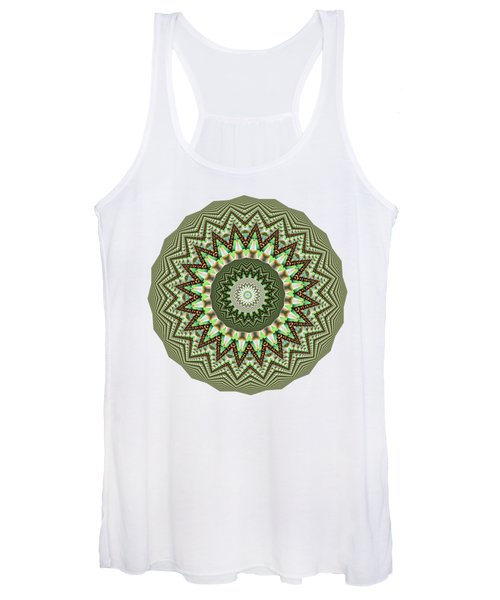 Dome Of Chains Mandala By Kaye Menner Women's Tank Top