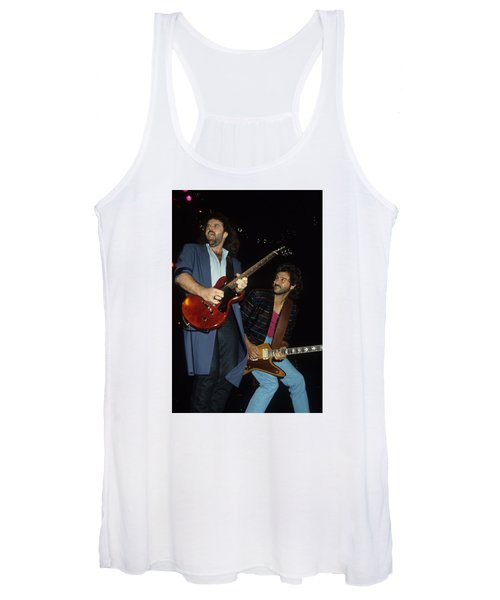 Don Barnes And Jeff Carlisi Of 38 Special Women's Tank Top