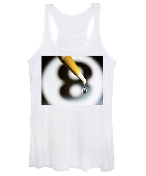 Don't Fall Behind The Eight Ball Women's Tank Top
