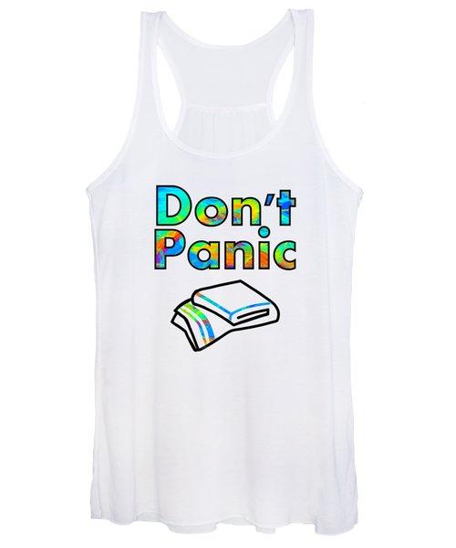 Don't Panic Women's Tank Top