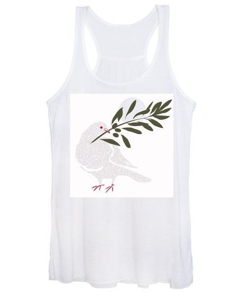 Dove Of Peace Women's Tank Top