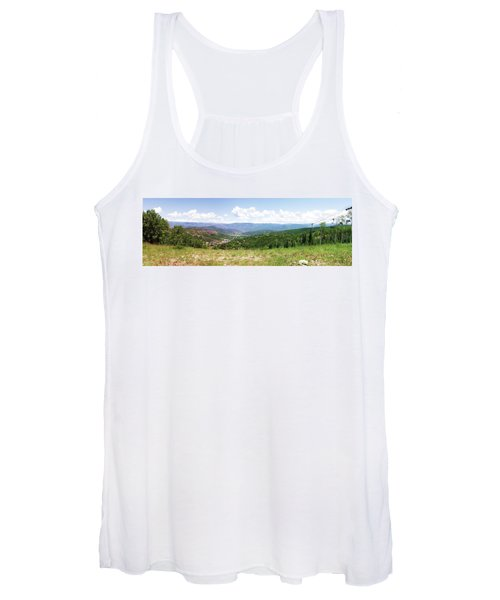 Down The Valley At Snowmass #2 Women's Tank Top