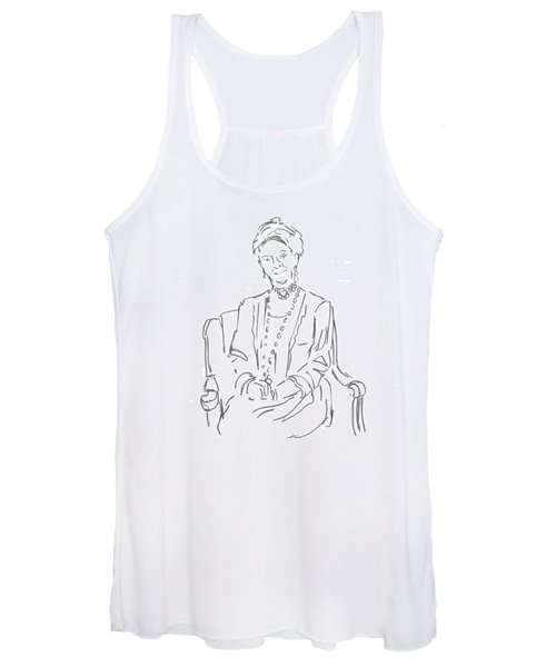 Downton Abbey - The Dowager Countess Women's Tank Top