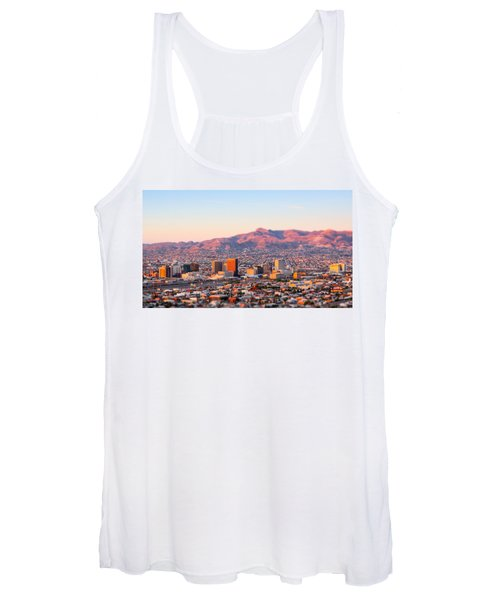Downtown El Paso Sunrise Women's Tank Top