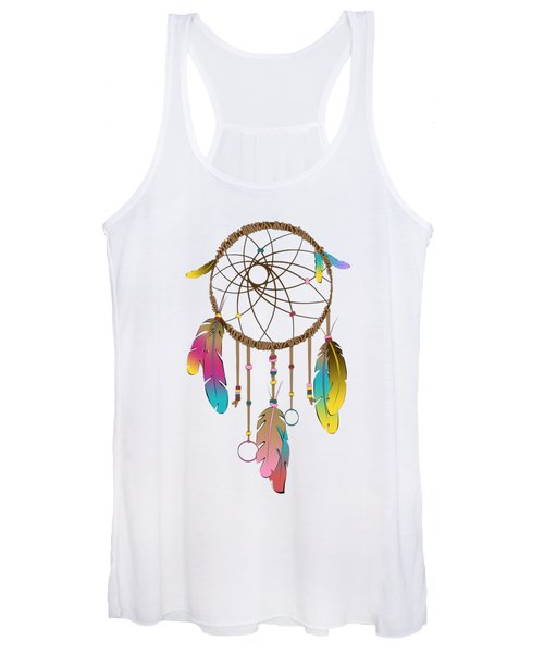 Dreamcatcher Rainbow Women's Tank Top