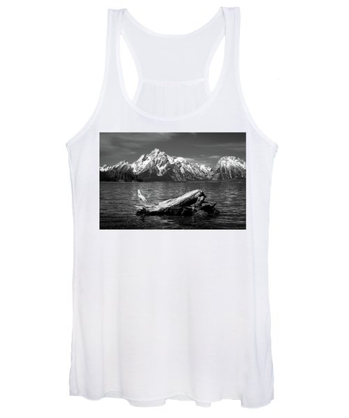 driftwood and Mt. Moran Women's Tank Top